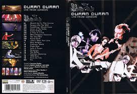 duran duran live from london dvd