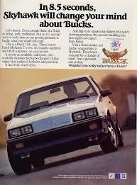 1984 buick skyhawk