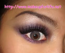 gray eye shadow