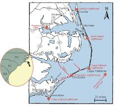 outer banks maps