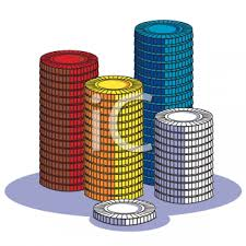 poker chips clipart