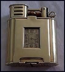 dunhill gold lighters