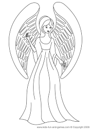 angel coloring