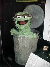 oscar the grouch puppet