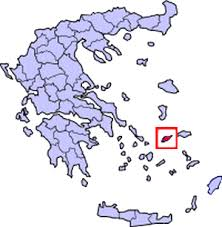 ikaria greece map