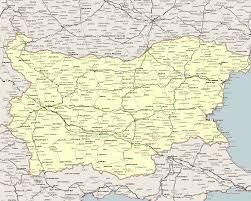 harta rutiera a bulgariei