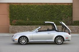 lexus hard top convertible