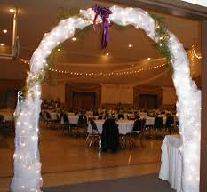 lighted arches