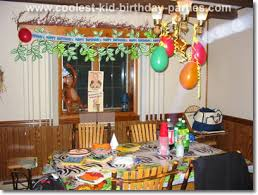 jungle birthday party