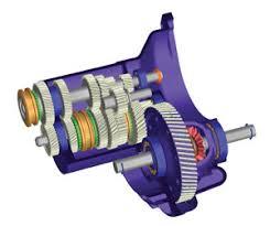 transaxle gearbox