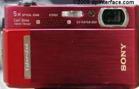 sony t500 red