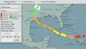 Hurricane Tracker Interactive