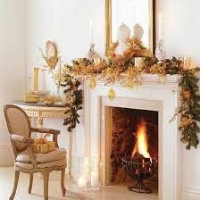 christmas fireplace garland