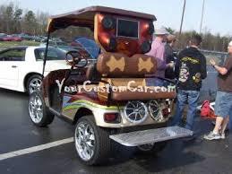 custom golf cart paint