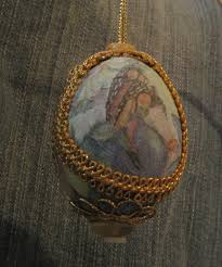 decoupage egg