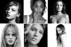 faces of models