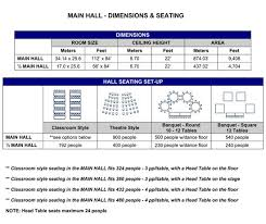 booth seating dimensions
