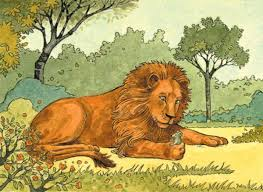 pictures of the lion and the mouse