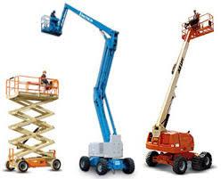 elevating working platforms