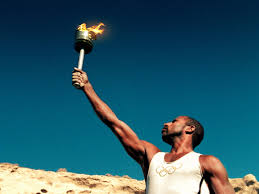 olympic torch photo