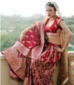 indian bridal costume