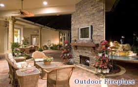 outdoor fireplaces photos