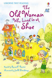 old women who lived in a shoe