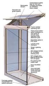 green house window
