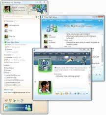 msn messenger window