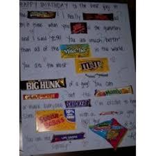 candy bar message