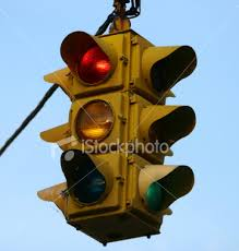 old traffic lights