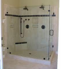 frameless glass showers