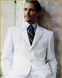 man white suit