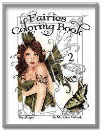 fairies coloring books