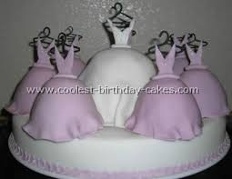 photos of bridal shower cakes