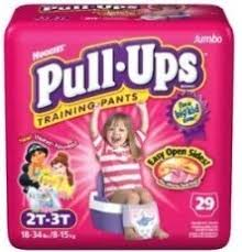 girls in pull ups