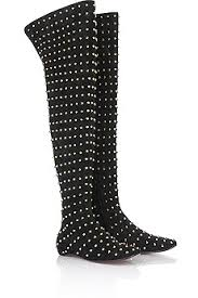 louboutin studded boots