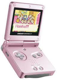 game boy advance sp pink