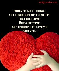 i promise you forever