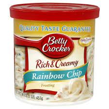 betty crocker rainbow chip
