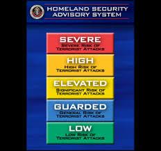 homeland security level