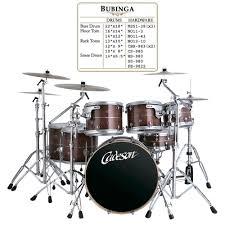 heavy metal drum set
