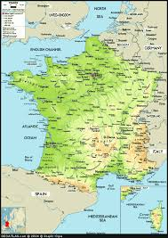 picture of map of france