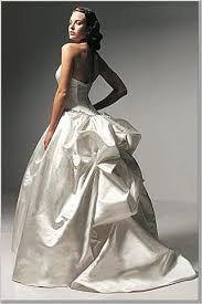 bustle wedding gowns