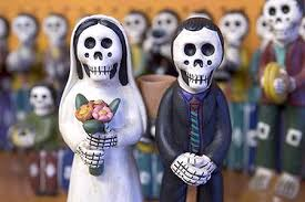 skeleton figurines