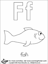 free letter coloring pages