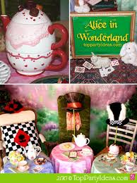 mad hatter party supplies