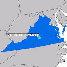 appomattox map