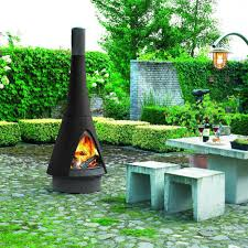 outside fireplace design
