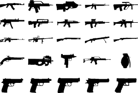 clip art of guns